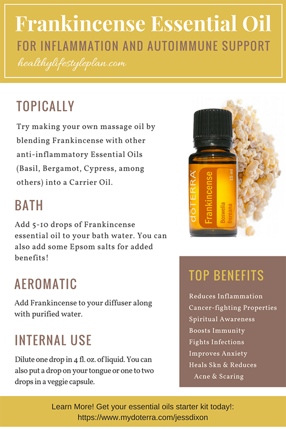 Frankincense Essential Oil May Reduce Inflammation