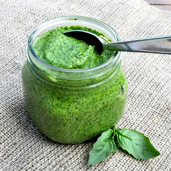 Recipe for Roasted Garlic Paleo Pesto