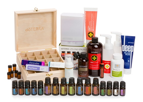 What's included in essential oils natural solutions kit?