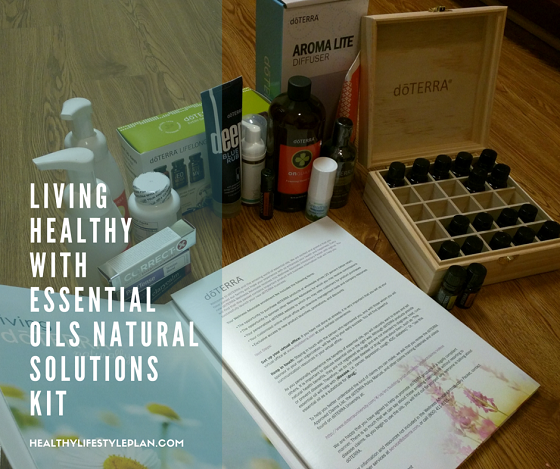 Essential Oils Natural Solutions kit