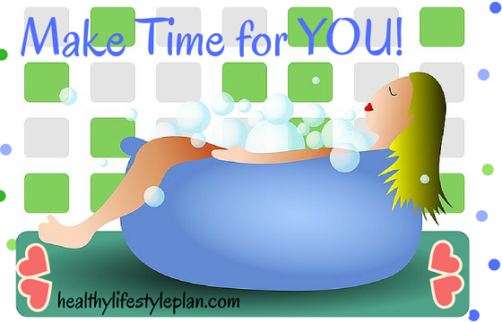 Healthy living - take time for you