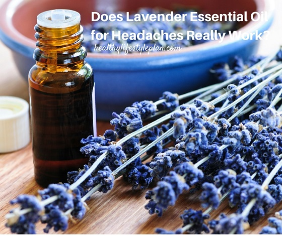 Lavender is a natural solution for headaches