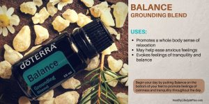 Balance Grounded essential oil for emotional well being