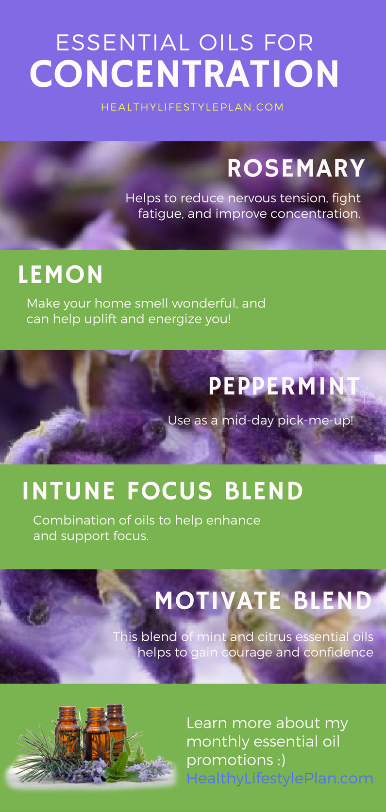Oils to concentrate