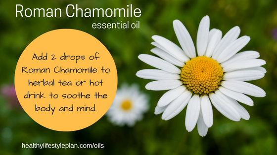 Sleep well with Roman Chamomile essential oil