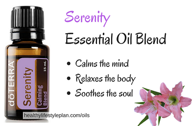 Serenity essential oil for sleep