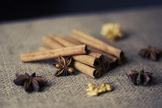 Realtor open house and cinnamon sticks