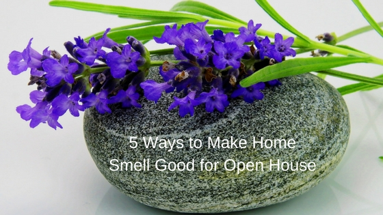 How to make house smell good for open house