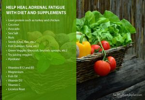 Help Heal Adrenal Fatigue with Diet